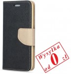 Samsung Galaxy S9 G960 Etui Pokrowiec Book Smart Fancy kolor: czarno-złoty