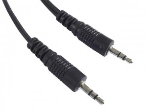 Kabel Audio Stereo Mini Jack 3,5 mm długość 1,5 m