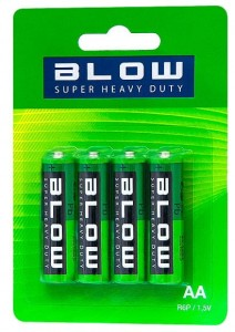 Baterie R6/AA Blow Super Heavy Duty blister 4szt.