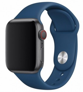 Pasek Devia Deluxe Sport do Apple Watch 1, 2, 3, 4, 5 rozmiar: 42-44 mm kolor: blue horizon