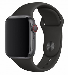 Pasek Devia Deluxe Sport do Apple Watch 1, 2, 3, 4, 5 rozmiar: 38-40 mm kolor: czarny