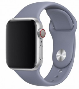 Pasek Devia Deluxe Sport do Apple Watch 1, 2, 3, 4, 5 rozmiar: 42-44 mm kolor: lavender gray