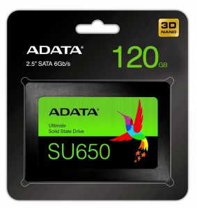 120GB SSD Adata Ultimate SU650 SATA3 2,5