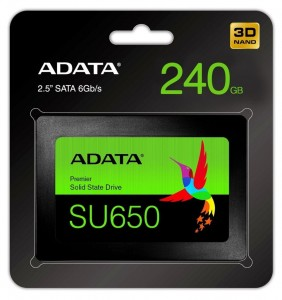 240GB SSD Adata Ultimate SU650 SATA3 2,5