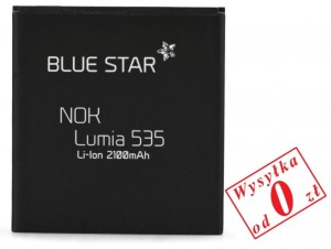 Bateria BlueStar do Nokia Lumia 535 2100 mAh