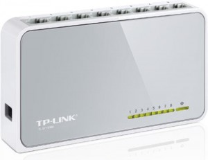 Switch TP-Link TL-SF1008D Switch 8x10/100Mbps