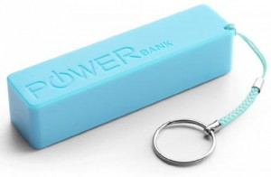 Power Bank Extreme 2000 mAh kolor: niebieski