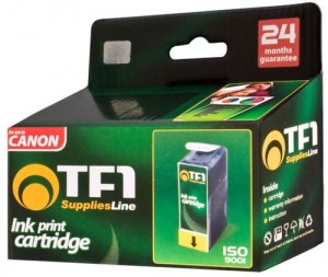 Tusz TF1 do Canon 2 x BCI24B 9ml , 1 x BCI24C 15ml