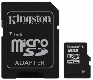16GB Karta Pamięci Kingston microSDHC class4