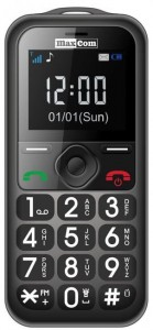 Maxcom MM 560 Telefon dla Seniora kolor: Gray/Black