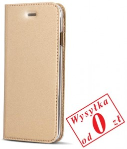 Samsung Galaxy S8 Plus Etui Pokrowiec Book Smart Premium kolor: złoty