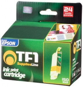Tusz TF1 do Epson T040 kolor czarny 18 ml