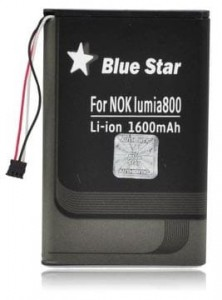Bateria BlueStar do Nokia 800 Lumia 1750 mAh