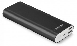 Power Bank Esperanza Proton 10000 mAh kolor: czarny