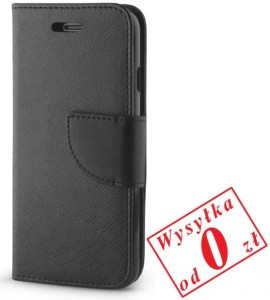 Apple iPhone 4, 4s Etui Pokrowiec Book Smart Fancy kolor: czarny